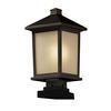 Z-Lite Outdoor Post Light Oil Rubbed Bronze