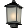 Outdoor Post Light Black
