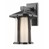 Z-Lite 1 Light Outdoor Wall Light Black