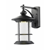 Outdoor LED Wall Light Black