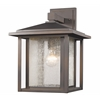 1 Light Outdoor Oil Rubbed Bronze