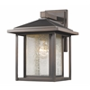Z-Lite 1 Light Outdoor Oil Rubbed Bronze