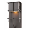 1 Light Outdoor Deep Bronze
