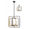 Z-Lite 4 Light Pendant Bronze Gold