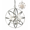 4 Light Pendant Brushed Nickel