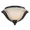 Z-Lite 2 Light Ceiling Bronze