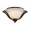 Z-Lite 3 Light Ceiling Matte Black