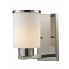 1 Light Vanity Brushed Nickel