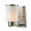 Z-Lite 1 Light Vanity Brushed Nickel