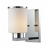 1 Light Vanity Chrome