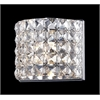 1 Light Crystal Vanity Light Chrome