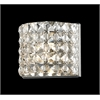Z-Lite 1 Light Crystal Vanity Light Chrome
