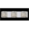 3 Light Crystal Vanity Light Chrome
