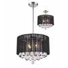 Z-Lite 4 Light Pendant Brushed Nickel