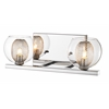 2 Light Vanity Chrome