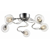 5 Light Semi Flush Mount Chrome
