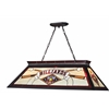 4 Light Billiard Light Matte Black