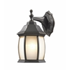 Z-Lite 1 Light Outdoor Wall Light Oil Rubbed Bronze