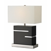 1 Light Table Lamp Black
