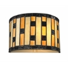 1 Light Wall Sconce Java bronze