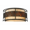 2 Light Wall Sconce Java bronze