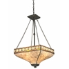 3 Light Pendant Java Bronze