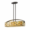 4 Light Island/Billiard Light Java bronze