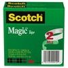 "Scotch Magic Tape, 3/4"" x 2592"", 3"" Core, 2/Pack"
