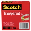 "Transparent Tape 600 2P12 72, 1/2"" x 2592"", 3"" Core, Transparent, 2/Pack"