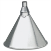 Plews & Edelmann Heavy Galvanized Steel Funnel