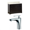 48-in. W x 18.5-in. D Birch Wood-Veneer Vanity Set In Distressed Antique Walnut With Single Hole CUPC Faucet