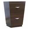 23.25-in. W x 18-in. D Modern Plywood-Melamine Vanity Base Only In Wenge