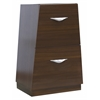 19.5-in. W x 30.5-in. H Modern Plywood-Melamine Modular Drawer In Wenge