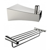 Multi-Rod Towel Rack And Robe Hook Accessory Set