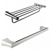 American Imaginations Single Rod And Multi-Rod Towel Rack Accessory Set