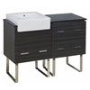 48-in. W x 20-in. D Plywood-Melamine Vanity Set In Dawn Grey