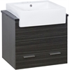 24-in. W x 20-in. D Plywood-Melamine Vanity Set In Dawn Grey