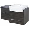 38-in. W x 20-in. D Plywood-Melamine Vanity Set In Dawn Grey