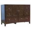 47.5-in. W x 18-in. D Modern Plywood-Veneer Vanity Base Only In Walnut