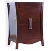 American Imaginations 23.54-in. W x 18.03-in. D Modern Birch Wood-Veneer Vanity Base Only In Coffee