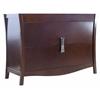 47.17-in. W x 18.03-in. D Modern Birch Wood-Veneer Vanity Base Only In Coffee