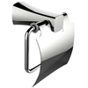 American Imaginations Brass Constructed Toilet Paper Holder In Chrome