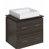 24-in. W x 18-in. D Plywood-Melamine Vanity Set In Dawn Grey