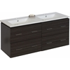 48-in. W x 18-in. D Plywood-Melamine Vanity Set In Dawn Grey