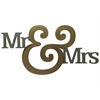 "Letter2Word Mr & Mrs (27"") Block Wall Décor"