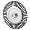 """Stringer Bead Wheel Brush, 6"""" Diameter, .02"""" Wire, 5/8-11 TPI"""