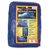 Multiple Use Tarpaulin, Polyethylene, 40ft x 60ft