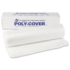 Poly-Cover Plastic Sheets, 4mil, 20 x 100, Clear