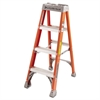 Louisville FS1500 Series Fiberglass Step Ladder, 4ft