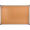 "Viztex Cork Bulletin Board with an Aluminium Trim (24""x18"")"